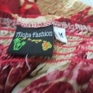 Aloha Fashion Tops - Aloha Fashion Top Size Medium Tank Cami Spaghetti
